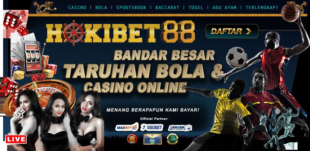 HOKIBET88 Akun Sbobet Taruhan Bola Dan Casino Online